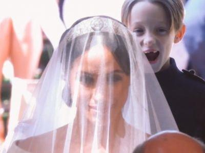 This royal wedding page boy made the funniest face and the internet loves it