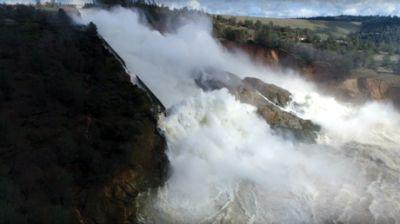 Tallest US dam in California might collapse, immediate evacuation ordered - sheriff