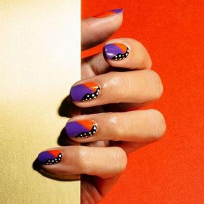 10 Orange Nail Looks to Save for Your Mood Board