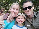 US wife and son, three, of British scientist fighting for lives after South Africa giraffe attack