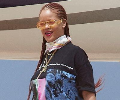 Rihanna wears Fenty 'Immigrant' shirt on Fourth of July