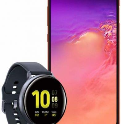 You Can Get A Free Galaxy Watch Active 2 With Purchase Of Galaxy S10e Or Note 10