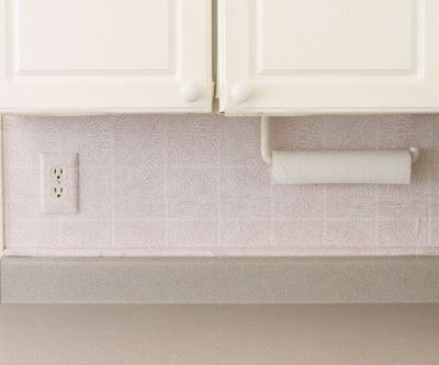How To Install a Temporary Backsplash with Removable Wallpaper