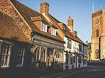 Exploring the narrow cobbled streets, hidden lanes and tile hung buildings of Petworth