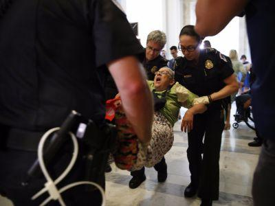 Under the Senate healthcare bill, an oil crash could eventually influence poor Americans' healthcare