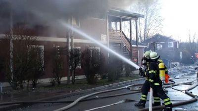 2 refugee centers in Germany go up in flames, 1 suspected arson