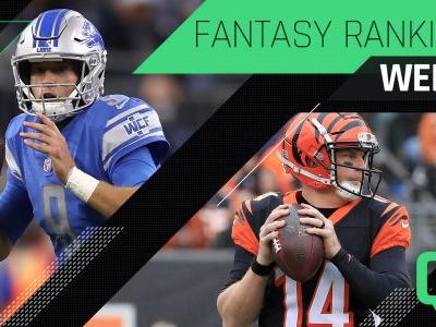 Week 7 Fantasy Rankings: QB