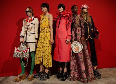 Watch the Gucci show live from Milan at 2pm
