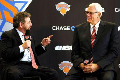 James Dolan sticking with Phil Jackson 'whether he's right or wrong'