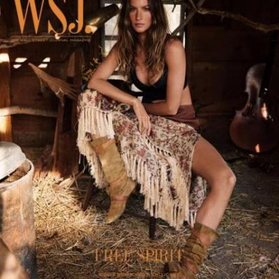 Gisele Bündchen Wore 2012 Boots on Her New 2018 Magazine Cover