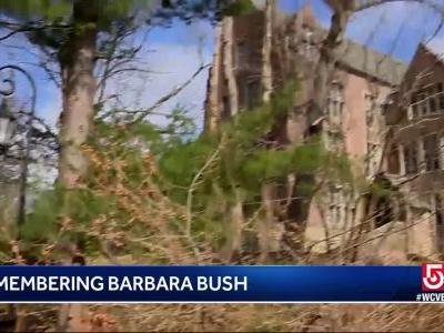 Wellesley College remembers Barbara Bush