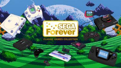 Sega Forever series offers classic Sega games for free, new titles released monthly