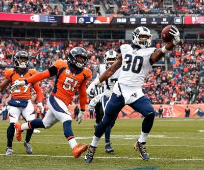 Todd Gurley's career-high rushing game pushes LA Rams past Denver Broncos