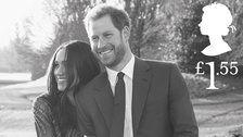 Romantic Royal Wedding Stamps Seal Prince Harry And Meghan Markle's Love