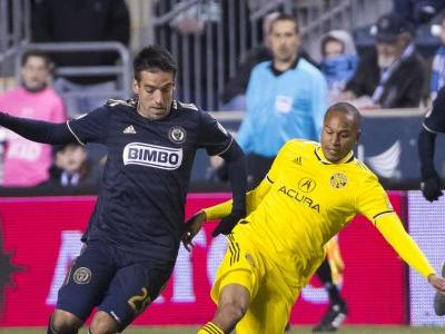 Accam scores twice, leads Union past Crew 3-0