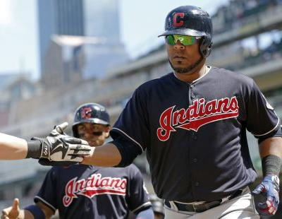 Edwin Encarnacion's two home runs not enough as Cleveland Indians fall to Minnesota Twins, 7-5