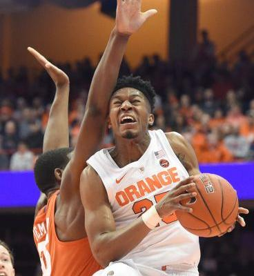 Syracuse gets 14 points from Hughes, beats Clemson 61-53