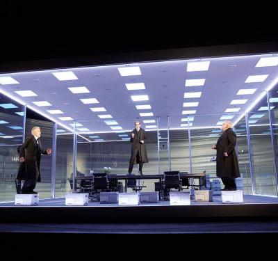 Es Devlin explains how she brought the Lehman Brothers tragedy to the stage for 'The Lehman Trilogy' - the sold out play transferring to New York in 2019