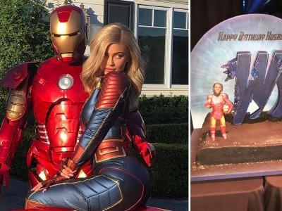 Kylie Jenner Throws Epic Avengers-Themed Birthday Bash for Travis Scott and Stokes Marriage Speculation