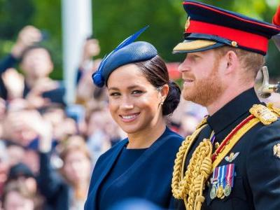 Meghan Markle Makes Her First Post-Baby Appearance at the Trooping the Colour Ceremony