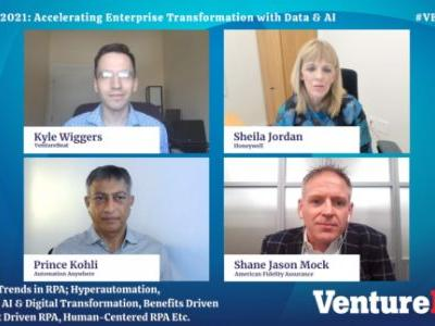 RPA is accelerating business transformations, Transform 2021 panelists say