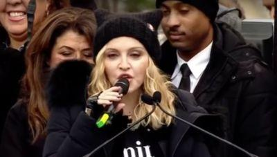 Watch Madonna's Defiant Speech from the Women's March