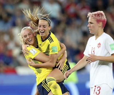 Canada knocked out of Women's World Cup by Sweden