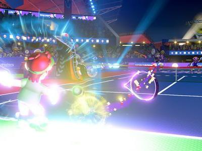 Mario Tennis Aces Update Will Nerf Bowser Jr., Punish Late Trick Shots
