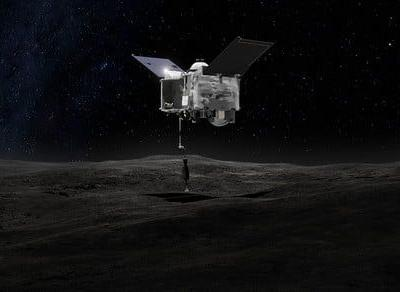 First images of the Bennu asteroid sent by NASA's OSIRIS-REx Spacecraft