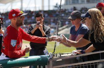 Boston's Pedroia plays 1 inning in first game since May