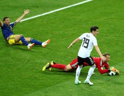 A brutal missed call cost Sweden a huge opportunity against Germany in the World Cup
