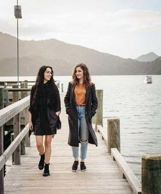 Talented young Codlin sisters make world-class art and slow fashion in Picton