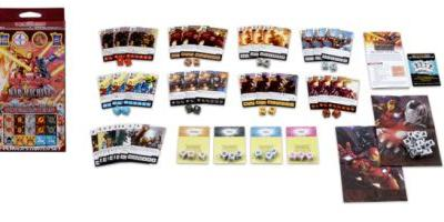 Iron Man & War Machine Set For Dice Masters Now Available