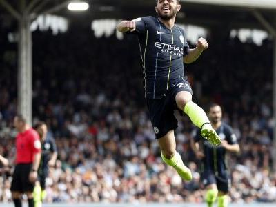 Man City top of English Premier League after beating Fulham