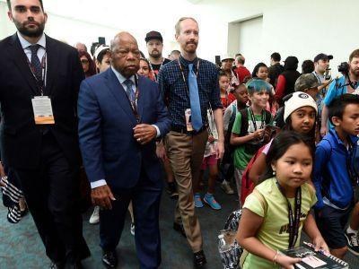 John Lewis Led A Civil Rights March Through Comic-Con