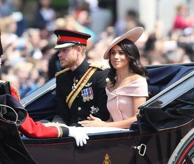 These Photos Of Meghan Markle & Prince Harry At Trooping The Colour Are So Regal