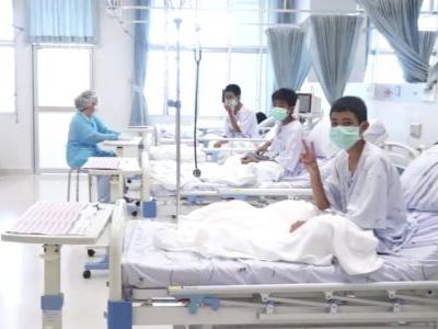 Hospital: Kids lost weight, drank dripping water to survive in Thai cave