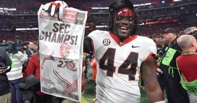 WATCH Georgia football LB Juwan Taylor: Bulldogs becoming SEC Champion