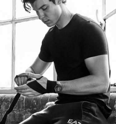 Shawn Mendes Hits the Gym for Emporio Armani Spring '19 Watches Campaign
