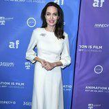 With Just 3 Pieces, Angelina Jolie Gives a Master Class in Elegant Dressing
