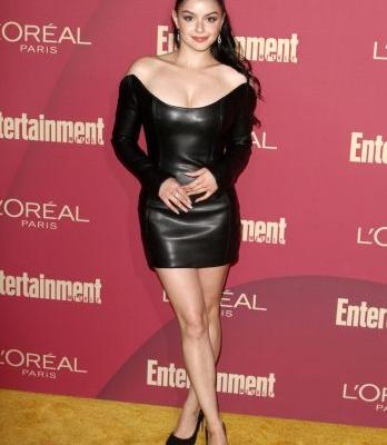 Vixen! Ariel Winter Stuns in a Sexy Leather Mini Dress at a Pre-Emmys Party