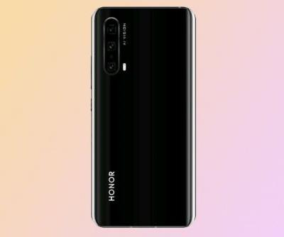 Honor 20 Pro leaks in black, confirming quad camera again