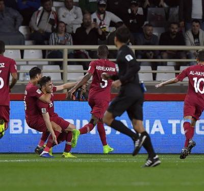 Qatar 1 Iraq 0: Al Rawi free-kick books quarter-final spot