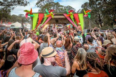 Australian EDM Fest Offered Free Waterboarding