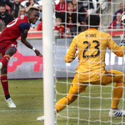 Johnson scores 1st goal to help Real Salt Lake snap 4-match skid, 2-1 over Orlando City