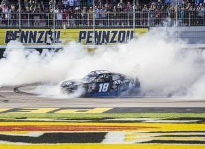 The Latest: Joey Logano leads after 2nd stage in Vegas