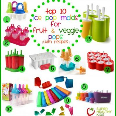 Top 10 Popsicle Molds for Fruit and Veggie Pops