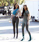 Kim Kardashian and Kylie Jenner's Sexy Outfits Prove They Are Morphing Into 1 Person