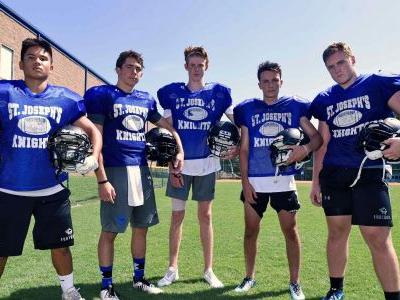 2018 football preview: Knights players, new staff work hard to connect