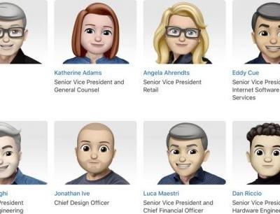 Apple Overhauls Leadership Page With Memoji Avatars for Execs Ahead of World Emoji Day